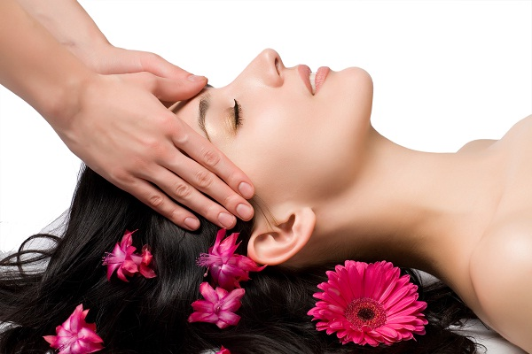 Head Massage-Simple Home Remedies For Hair Fall