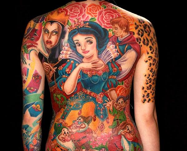 Walt Disney-Full Body Tattoos