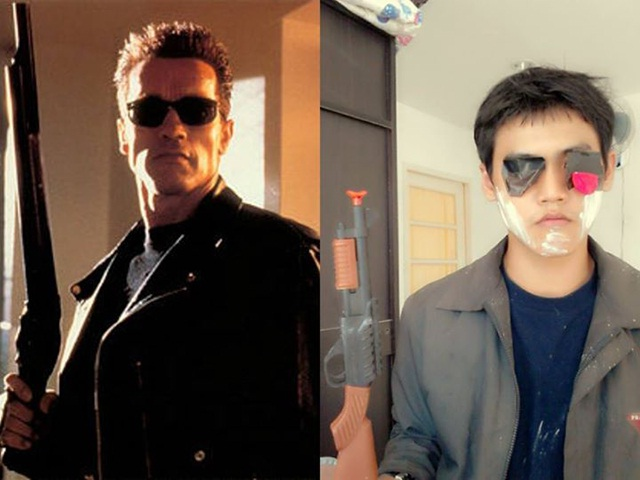 The Terminator-12 Cheap Yet Funny Cosplays Ever