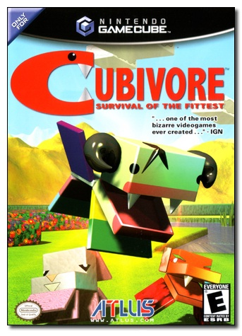 Cubivore: Survival Of The Fittest-Strangest Japanese Video Games Ever