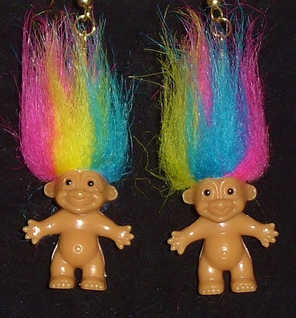 The Troll-Weirdest Earrings Ever