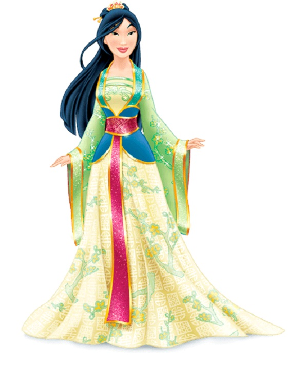 Princess Mulan-Disney Dresses
