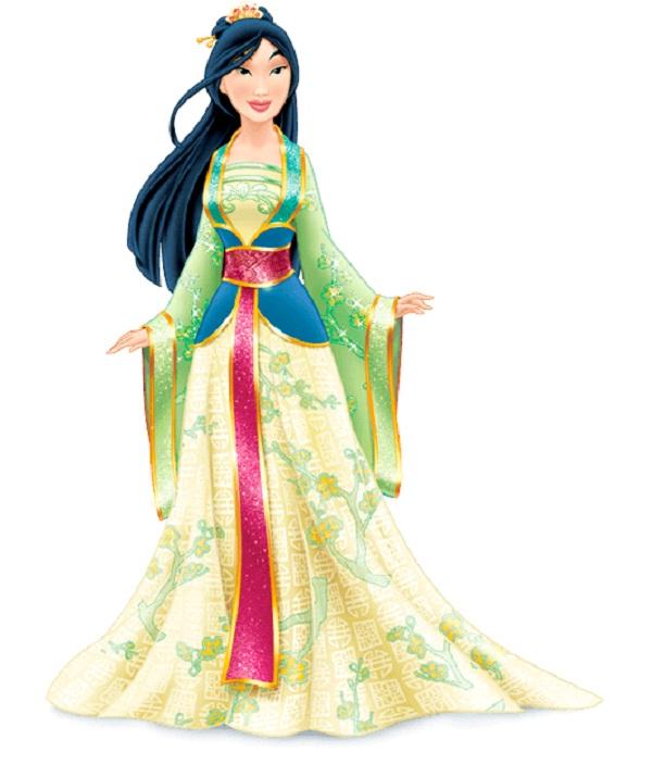 Princess Mulan-Disney Dresses