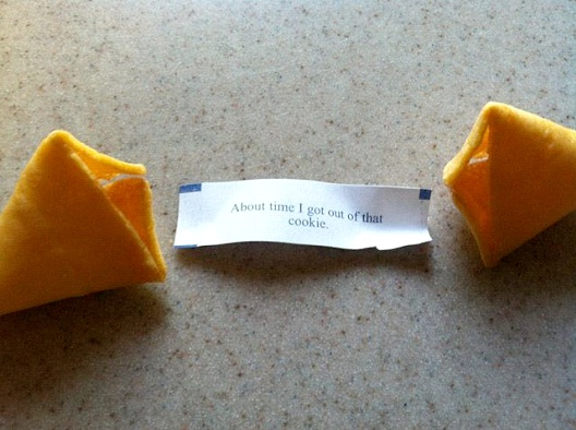 Trapped In A Fortune Cookie-Hilarious Fortune Cookies