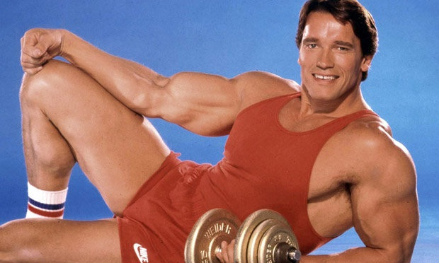 Arnie-Best Athlete Turned Actors