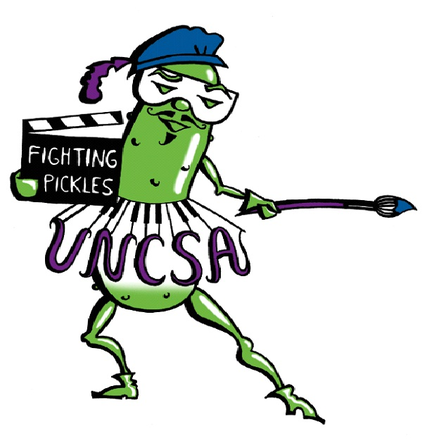 North Carolina School Of The Arts - Fighting Pickles-Strangest College Mascots