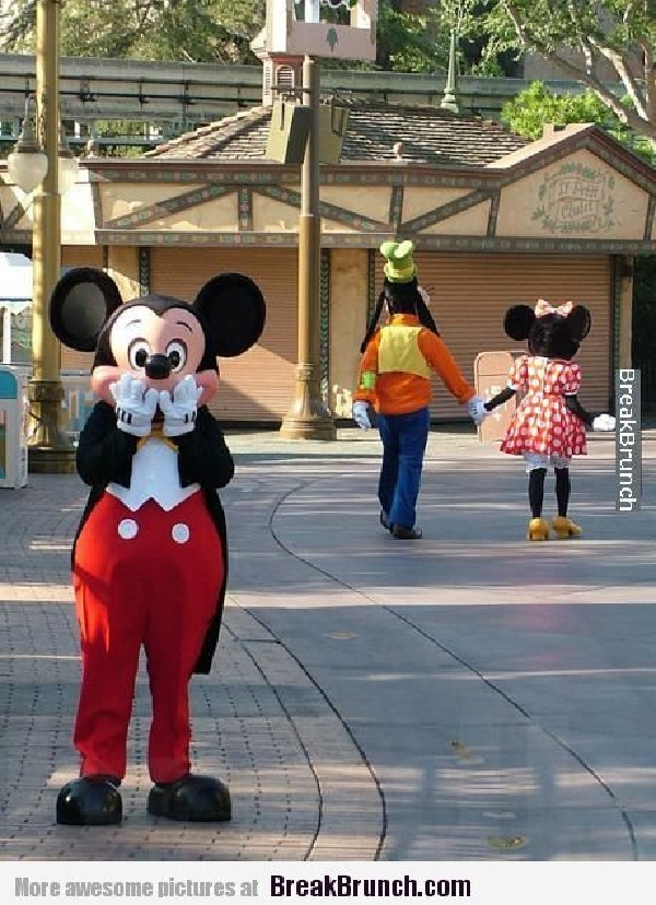 Oh Minnie-Disneyland Fails