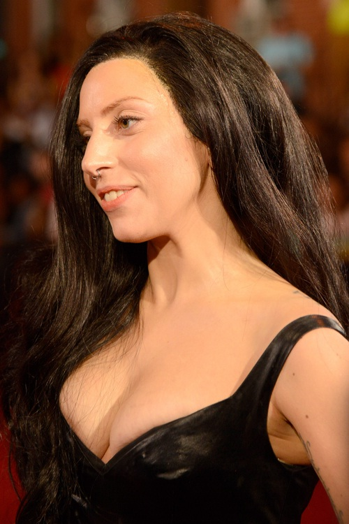 Dark and normal-Lady Gaga Hairstyles