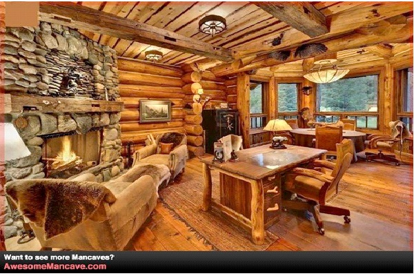 Rustic-Awesome Man Caves
