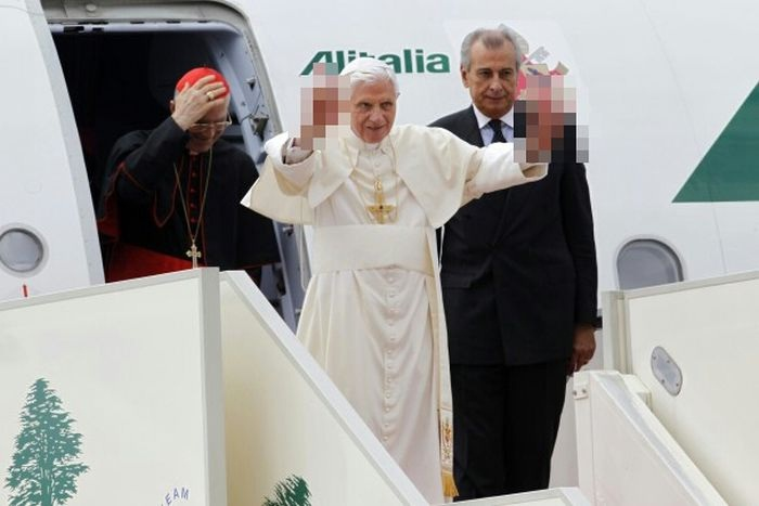 The Pope is doing what???-How Censorship Makes Things Creepy