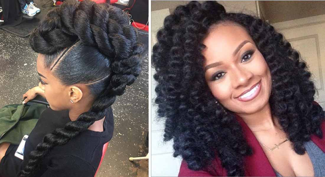 12 Crochet Braid Hairstyles You Should Try Now