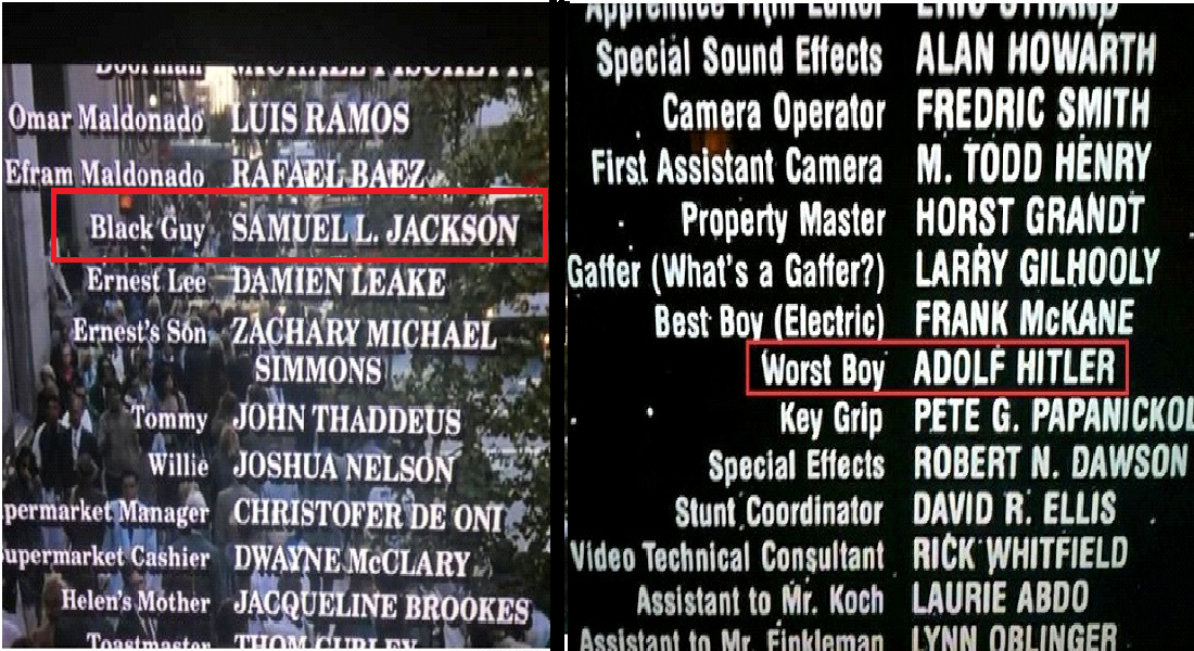 12 Funny Little Moments Found In Movie Credits