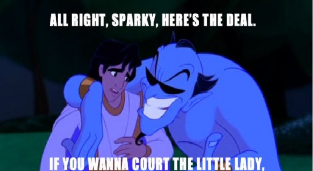 12 Funny Quotes Told By Genie From Disney's Aladdin TV Show