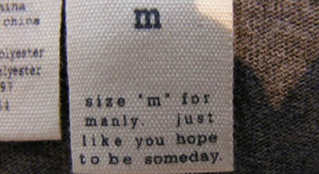 12 Hilarious Clothing Tags You'll Ever See
