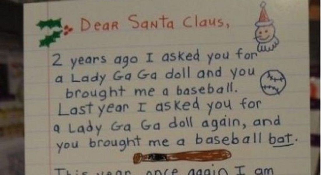 12 Hilarious Letters Ever Written To Santa Claus