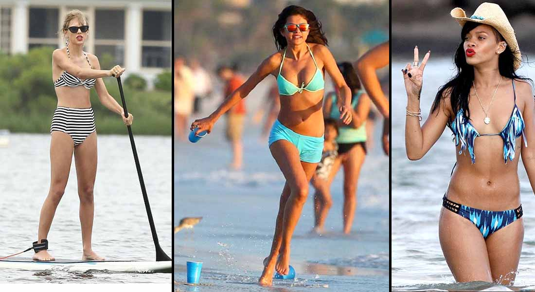12 Hottest Bikini Pictures Of Popular Celebrities