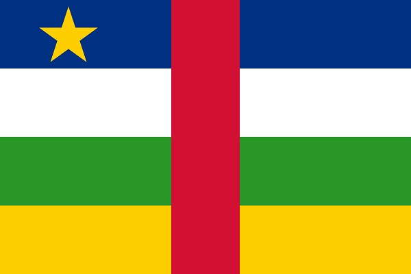 Central African Republic-World's Strangest Flags