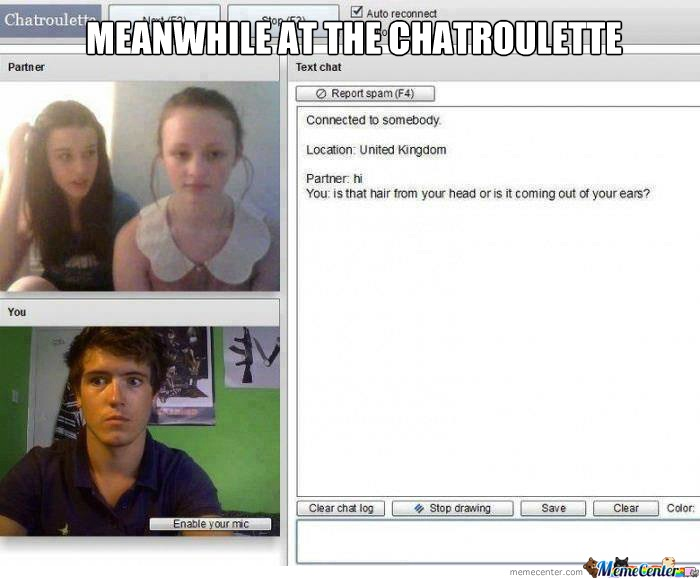 Very observant-24 Hilarious Chatroulette Chats That Will Make You Laugh Out Loud