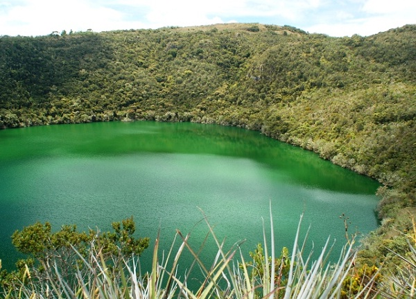 Lake Guatavita-Real Life Hidden Treasures