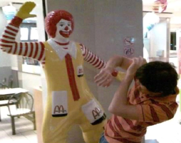 Ronald The Attacker-Most Inappropriate Ronald McDonalds