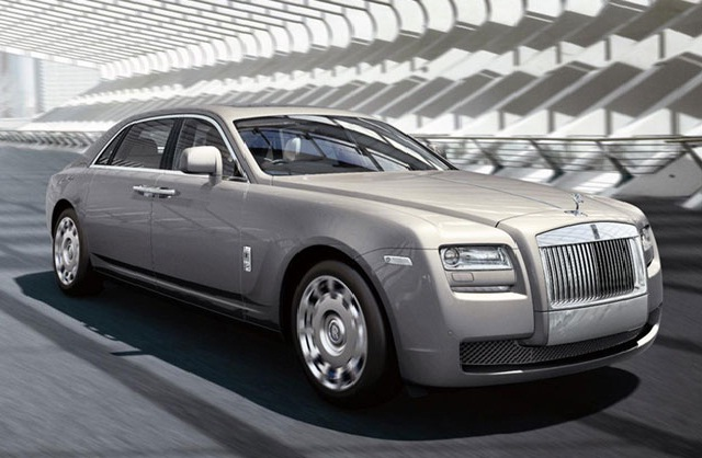 Rolls Royce Ghost-Longest Cars In The World