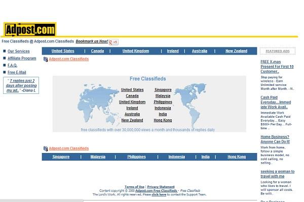 AdPost-Best Free Classifieds Websites