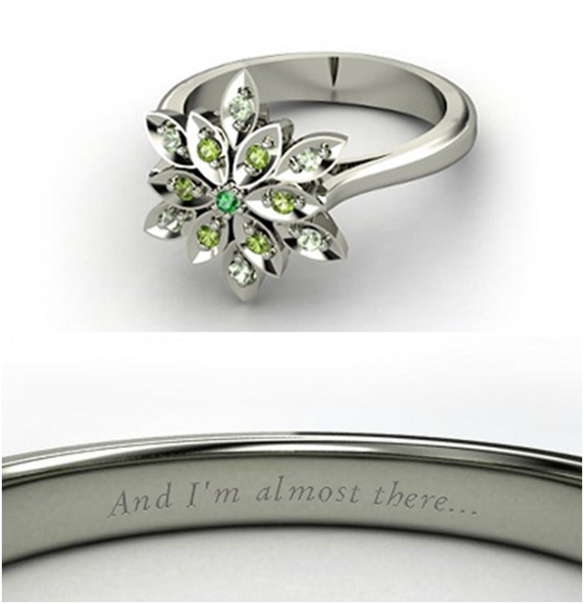 Princess Tiana Ring-Disney Engagement Rings