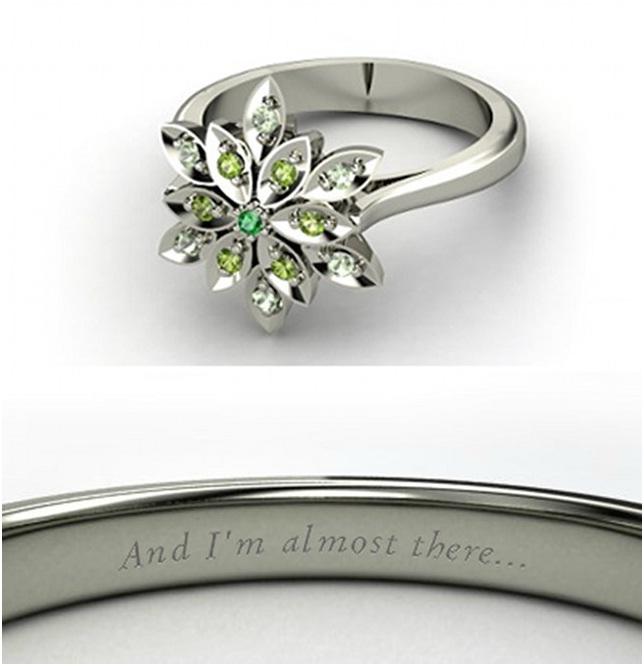 Princess Tiana Ring-Disney Engagement Rings