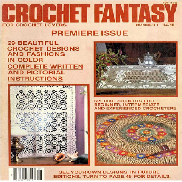 Crochet Fantasy-World's Most Bizarre Magazines