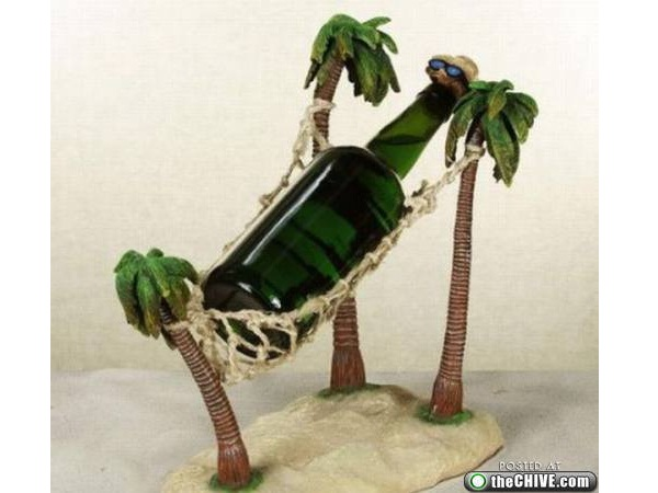 The Hammock-Creative Bottle Holders