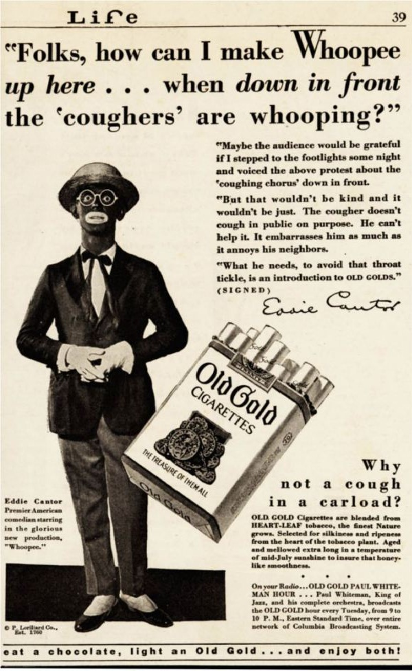 For Cigarettes?-Most Racist Vintage Ads
