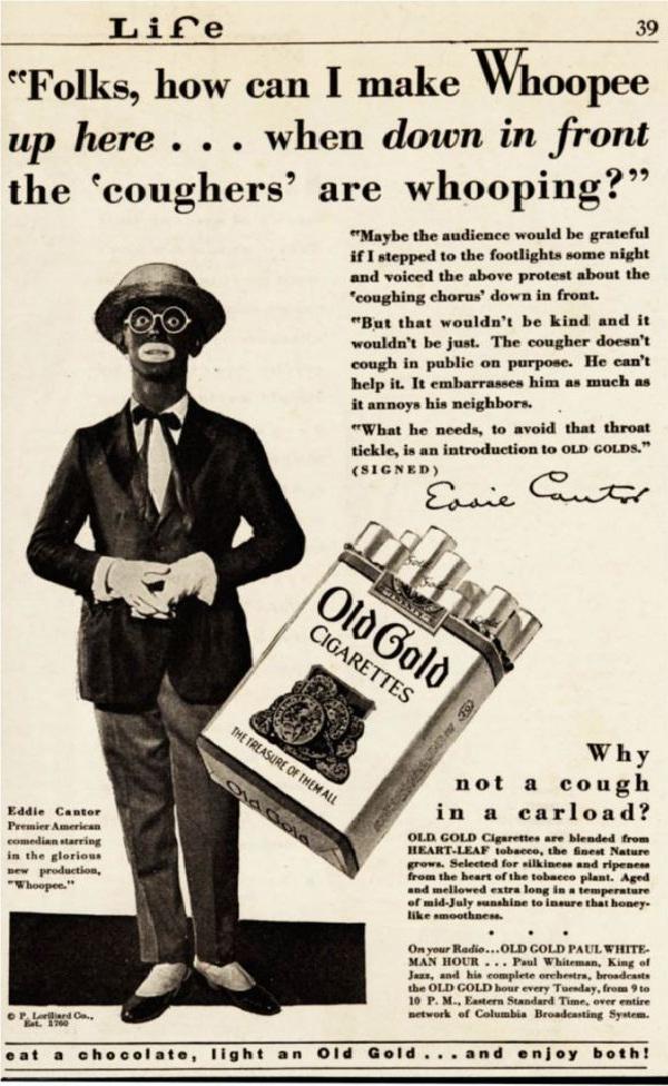 For Cigarettes?-Most Racist Vintage Ads