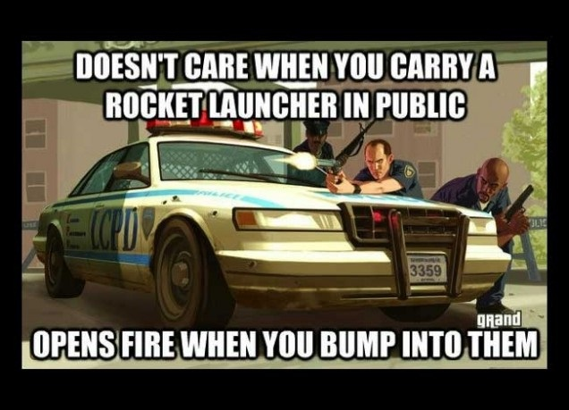 Rocket Launcher-Worst GTA Logic