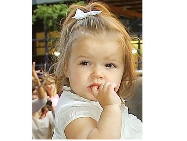 Harper Seven Beckham-Famous Celebrity Babies