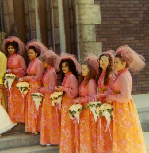 Those Bridesmaids Are Horrible-Things You Think About At A Wedding