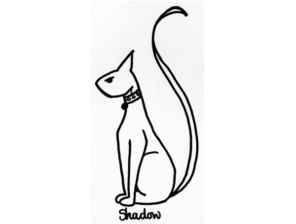 Portrait Cat Tattoo Design-Cat Tattoos Designs