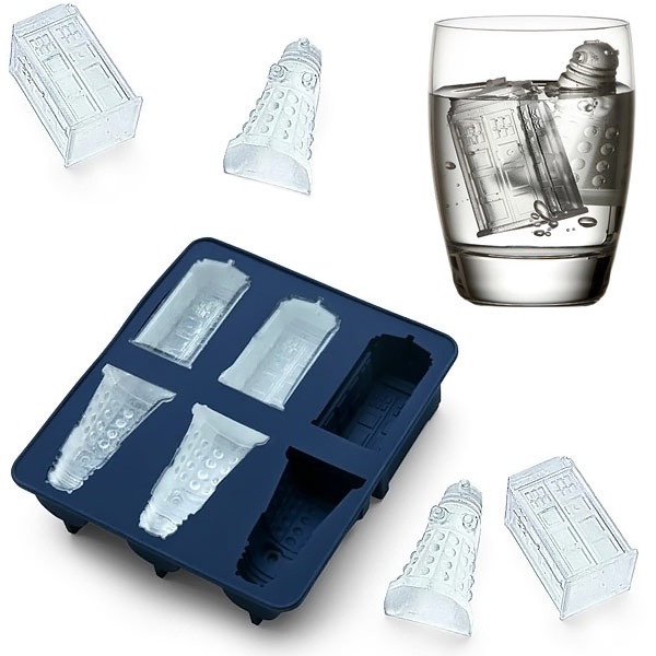 Dr Who-Coolest Ice Cube Trays