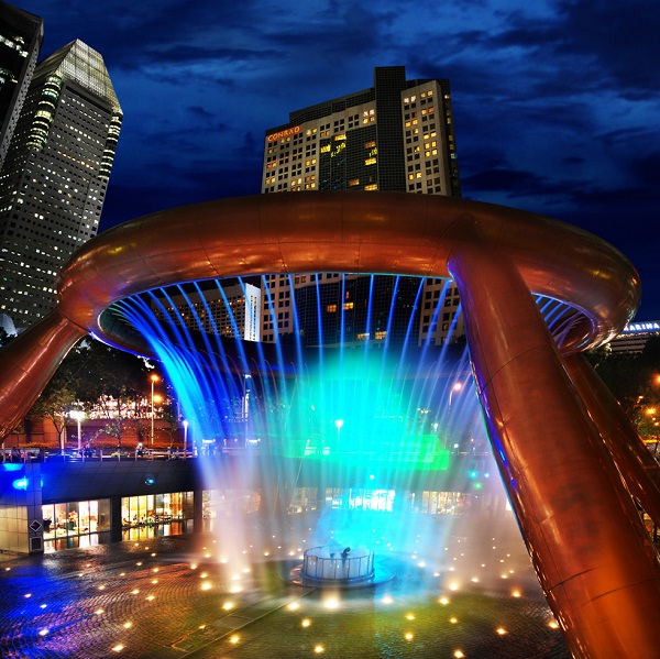 Fountain Of Wealth, Suntec City, Singapore-Most Breathtaking Fountains In The World