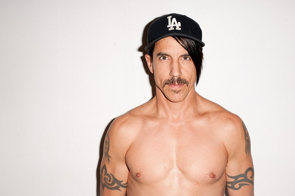Anthony Kiedis-Rock Stars Who Were Drug Addicts