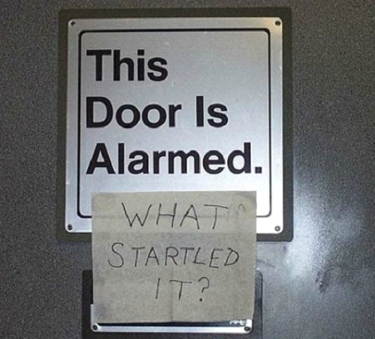Startled Door-12 Smart And Witty Replies To Written Notes
