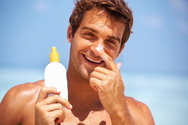 Sunscreen-Top 15 Tips For Getting Rid Of Pimples Forever