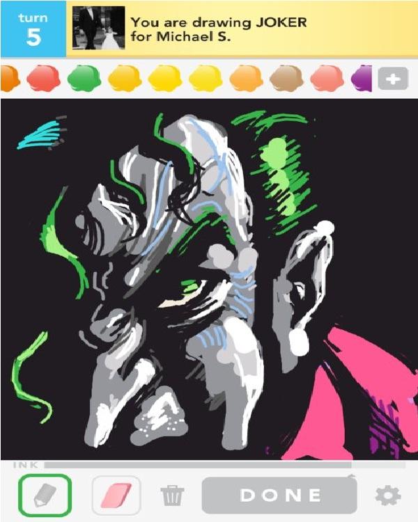 Mobile Joker-15 Best Joker Drawings That Give You Nightmares