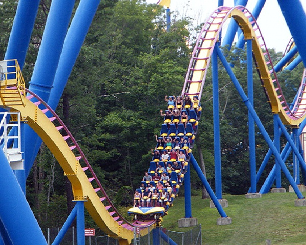 Six Flags Great Adventure-Places To Visit In New Jersey