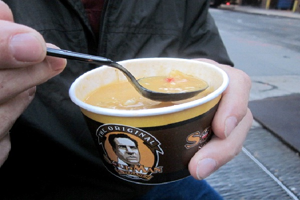 Lobster Bisque - Original Soup Man, New York City-Best Soups In The World