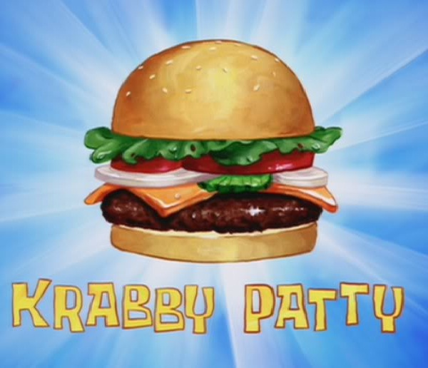 Krabby Patty-Things We Learned From Spongebob Squarepants