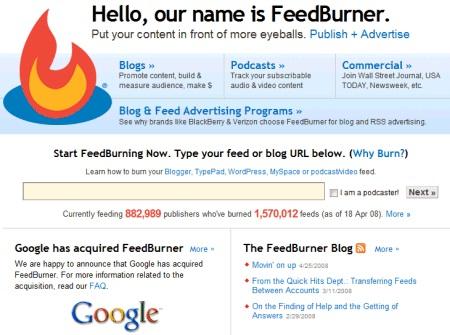 FeedBurner-Most Stupid Google Acquisitions Ever