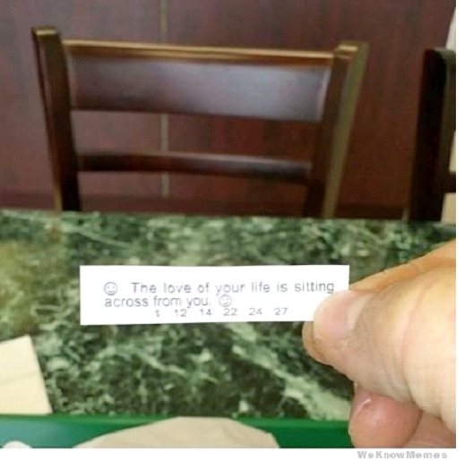 Invisible Lover-Hilarious Fortune Cookies