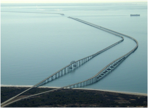 Chesapeake Bay Bridge-Tunnel-Longest Bridges In The World