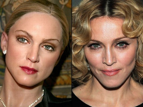 Madonna-Celebs With Their Wax Statues