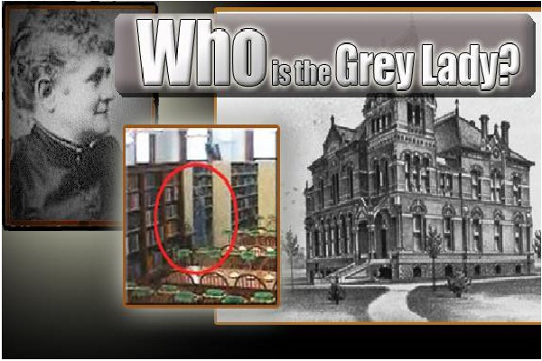 The Grey Lady Of Willard Library, Evansville, Indiana-Most Scariest Ghost Sightings Around The World